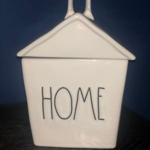 """NWT Rae Dunn """"Home"""" cookie canister"""
